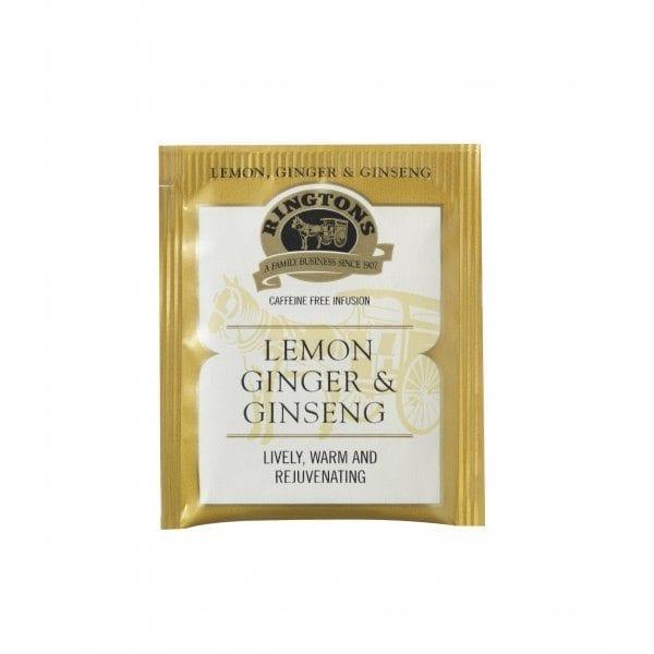 Ringtons Lemon Ginger String & Tag (25 Tea Bags)