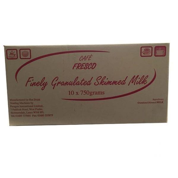 Cafe Fresco Granulated Skimmed Milk 10x750g
