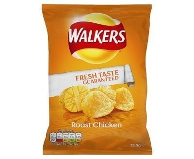 Walkers Chicken 1x32