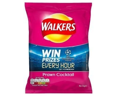 Walkers Prawn Cocktail 1x32