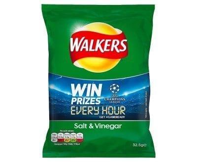 Walkers Salt & Vinegar 1x32