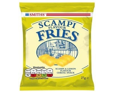 Walkers Scampi Fries 1x24