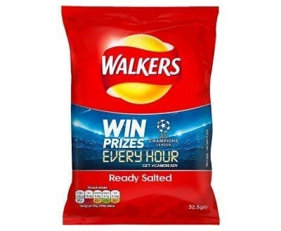 Walkers Ready Salted 1x32