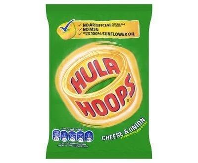 Hula-Hoops Cheese & Onion 1x32