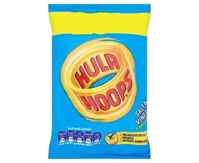 Hula-Hoops Salt & Vinegar 1x32
