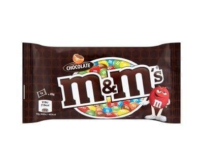 M & M Chocolate 24x45g