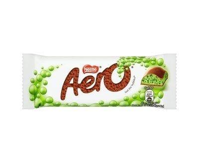 Aero Bubbly Bar Peppermint 24x36g