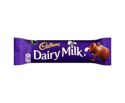 Cadburys Dairy Milk 48x45g