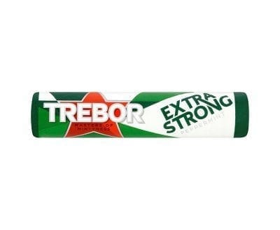 Trebor Extra Strong Peppermint Mints 40x41.3g