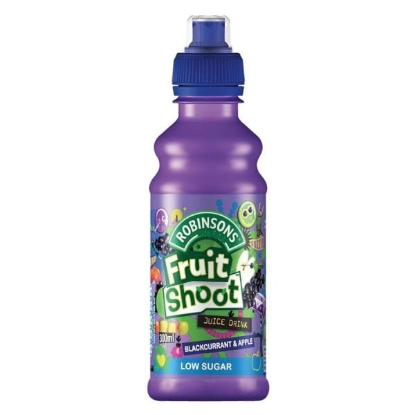 Fruit Shoot Apple and Blackcurrant No Added Sugar 12x275ml