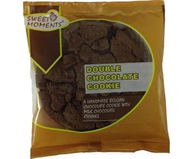 Sweet Moments Double Choc Chip Cookie 1x12 No VAT