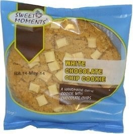 Sweet Moments White Choc Chip Cookie 1x12 No VAT