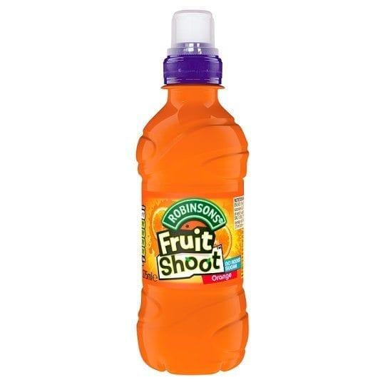 Fruit Shoot Orange No Added Sugar 12x275ml