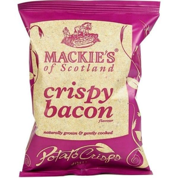 Mackies Crispy Bacon 24x40g