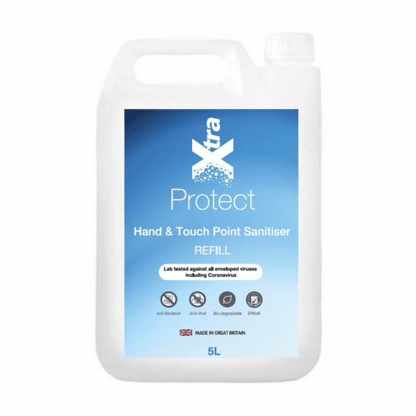 Aqua Air Hand & Touch Point Sanitiser 5L Refill