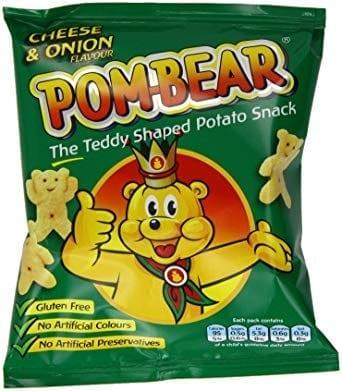 Pom-Bears Cheese & Onion 1x36