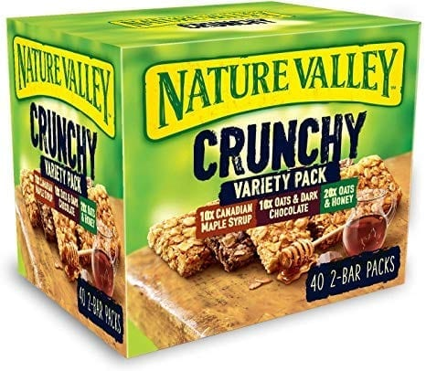 Nature Valley Crunchy Variety Pack 40x42g