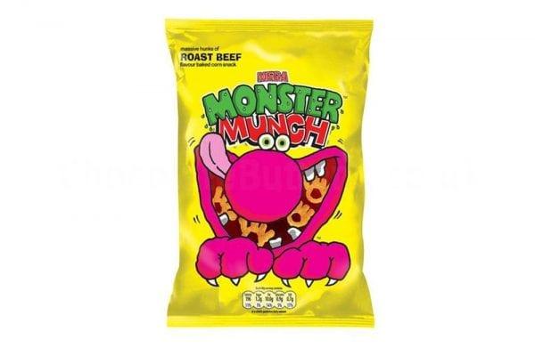 Monster Munch Beef 30x40g