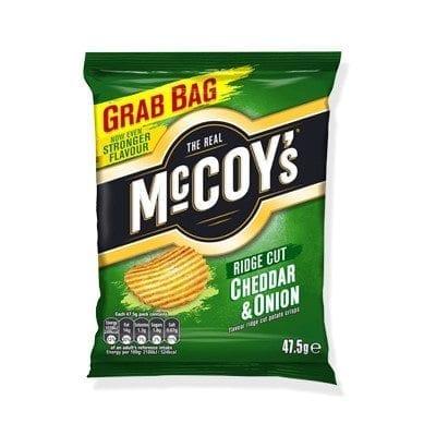 McCoys Cheddar & Onion 1x36