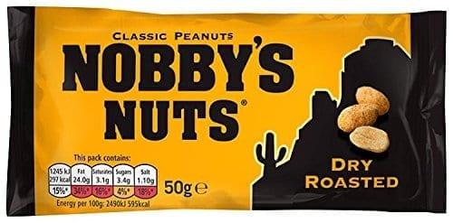 Nobbys Dry Roasted Peanuts 1x24