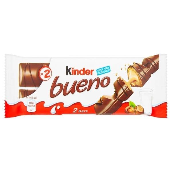 Kinder Bueno 88pk Box Ideal For Vending