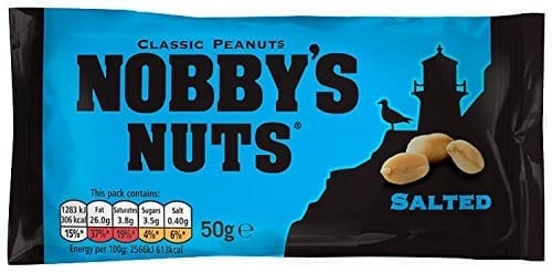 Nobbys Salted Shell Nuts 1x24
