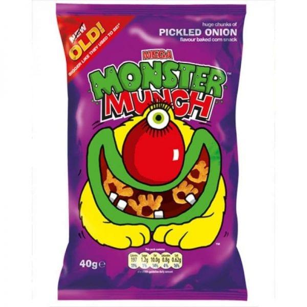 Monster Munch Pickled Onion 30x40g