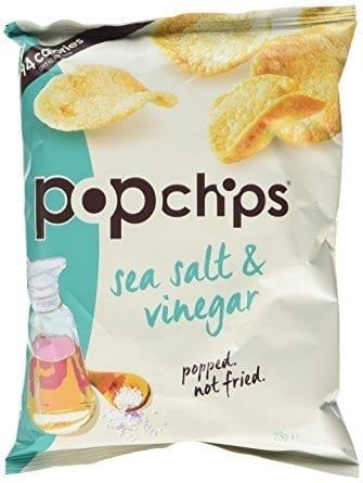Popchips Sea Salt & Vinegar 24x23g