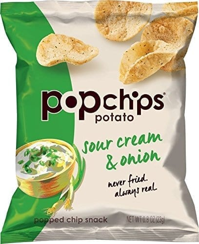 Popchips Sour Cream & Onion 24x23g