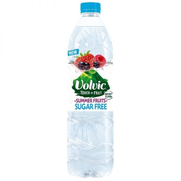Volvic Touch of Fruit Strawberry Sugar Free 12x500ml