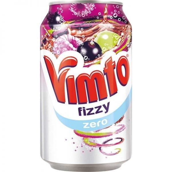 Vimto Fizzy Zero Can 1x24