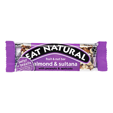 Eat Natural Brazil and Sultana With Peanuts and Almonds