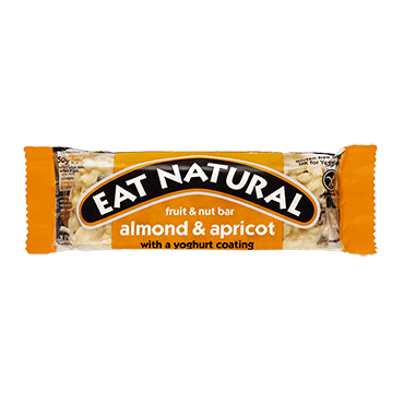 Eat Natural Almond & Apricot With A Yoghurt Coating 12x50g