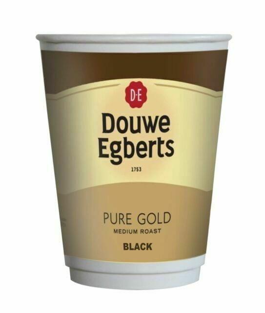 Fresh Seal 2 Go Douwe Egberts Black Coffee 12oz (150 Cups)