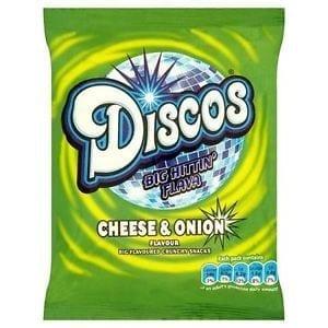 Discos Cheese & Onion 1x24