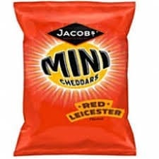 Mini Cheddars Red Leicester 50g 1x30