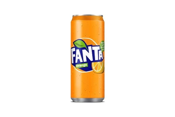 Fanta Orange Irish 24x330ml (NEW SLIMLINE CAN)