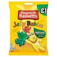 Maynards Jelly Babies PMP £1 12x165g