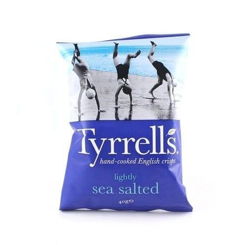 Tyrrells Lightly Sea Salted 24x40g