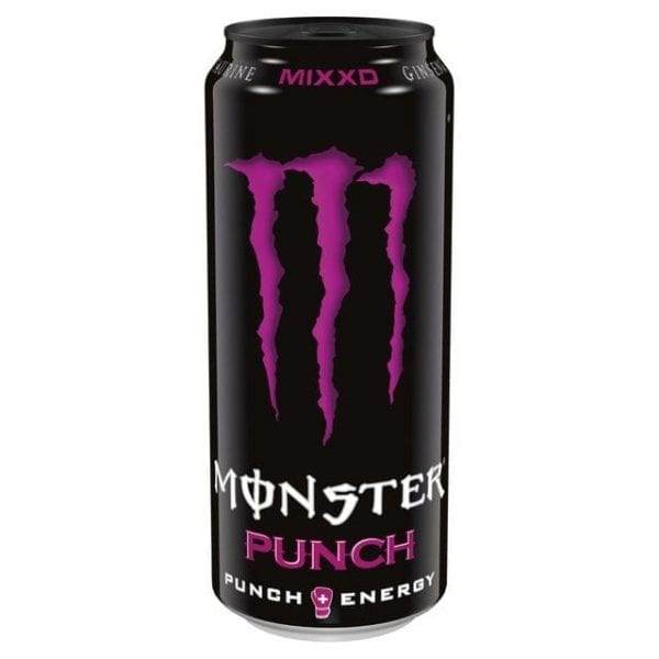 Monster Energy Punch Mixxd 12x500ml
