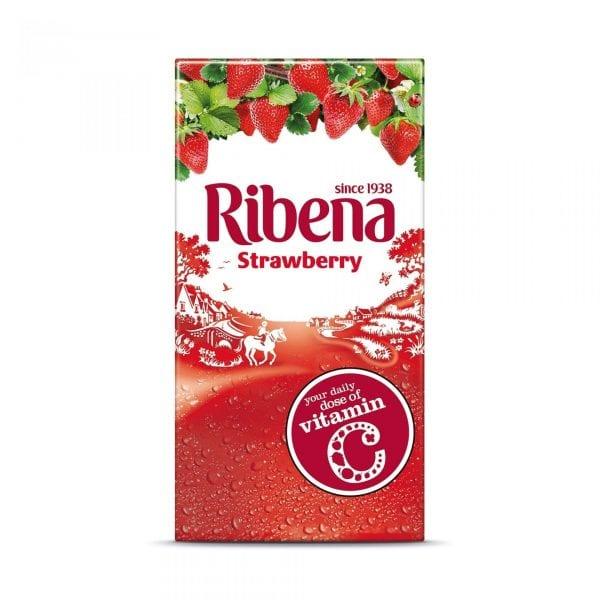 Ribena Strawberry Cartons 1x24