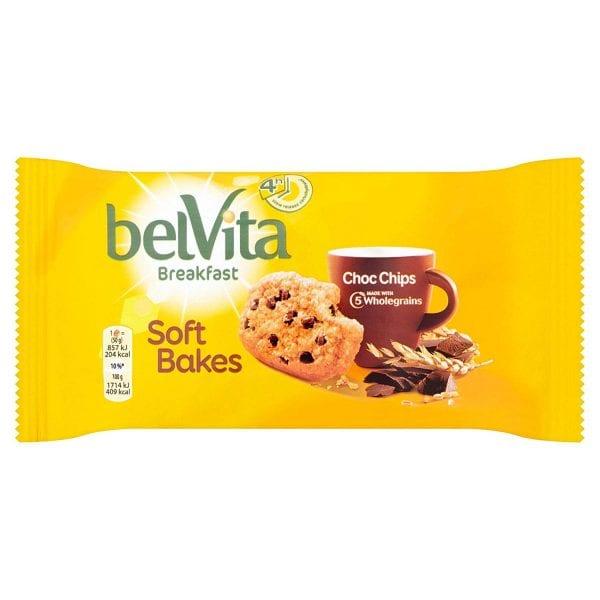 Belvita Soft Bake Choc Chip 20x50g