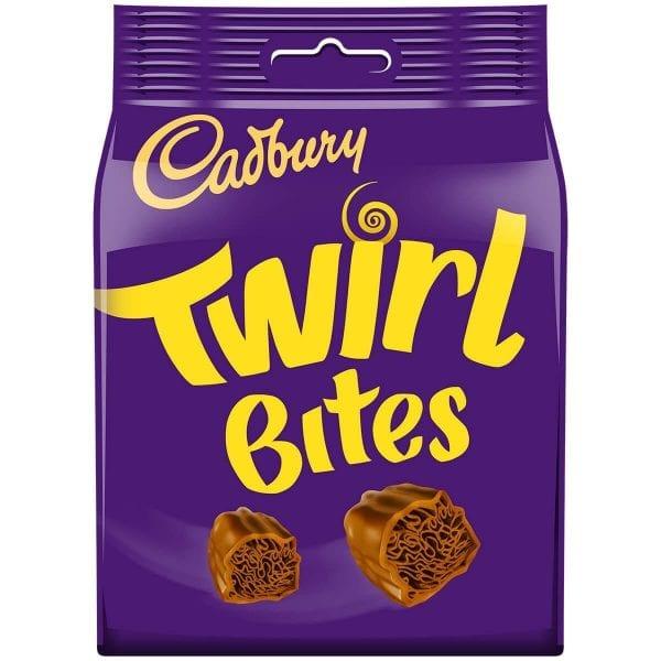 Cadburys Twirl Bites Bag 10x109g