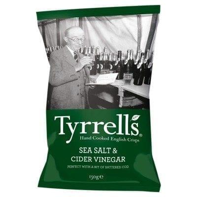 Tyrrells Sea Salt & Cider Vinegar 24x40g