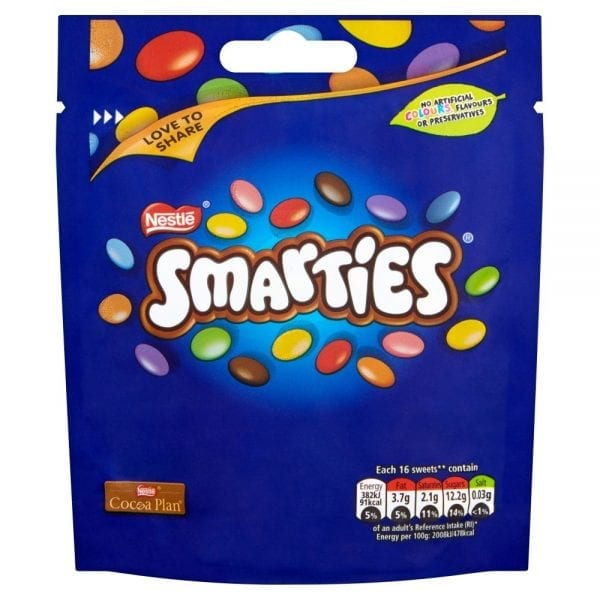Smarties Pouches 8x118g