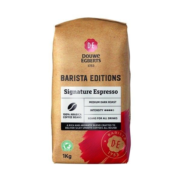 JDE Barista Editions Signature Espresso Beans 100% Arabica 8x1kg