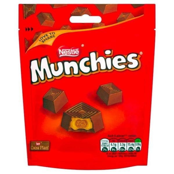 Munchies Pouches 8x104g