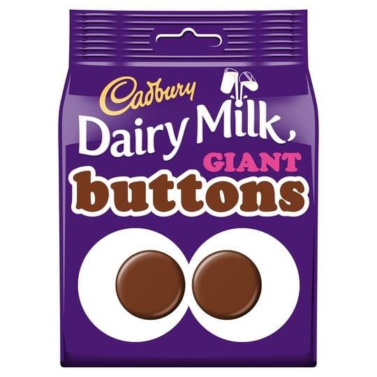 Cadburys Giant Buttons Bag 10x119g