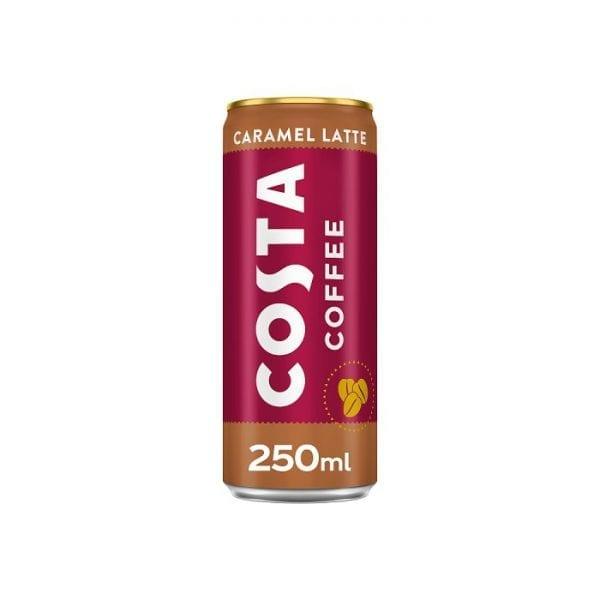 Costa Caramel Latte 12x250ml