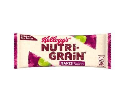 Nutri- Grain Raisin Breakfast Bake 24x45g